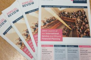Ellisons Solicitors Annual Review 2015