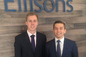 Ellisons retains two trainees this autumn