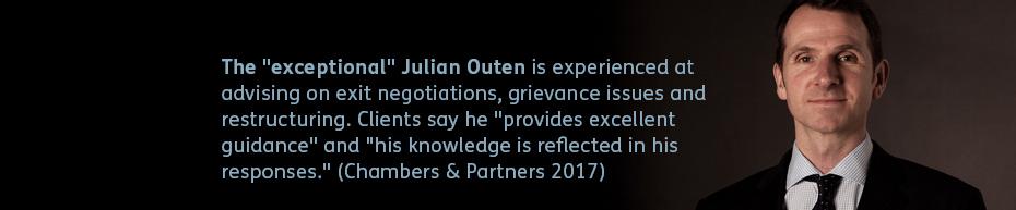 Photo of Julian Outen